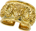Estate Jewelry:Bracelets, Gold Bracelet, David Webb. ...