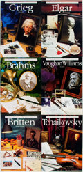 Books:Biography & Memoir, [Music/Biography.] Group of Sixteen Books from The Illustrated Lives of the Great Composers Series. London: Omni... (Total: 16 Items)
