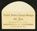Large Size:Demand Notes, KIRBY & CO. BOOKSELLERS AND STATIONERS 641 Broadway, New York25 Cts. PE347. About New.. ...