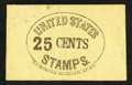 Large Size:Demand Notes, R.D. Thompson 162 William ST. N.Y. 25 Cents. PE747. ExtremelyFine.. ...