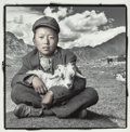 Photographs, PHIL BORGES (American, b. 1942-). Dawa 15, Drigung Valley, Tibet, 1994. Gelatin silver, printed 1997. 15-1/2 x 15-1/2 in...