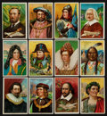 "Non-Sport Cards:Sets, 1910-12 T68 Royal Bengals Little Cigars ""Heroes/Men of History""Near Set (71/100). ..."