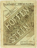 Books:Literature Pre-1900, Joe C. Aby. The Tales of Rube Hoffenstein. By Joe C. Aby of theNew Orleans Times-Democrat. Satchel Series, No. 36...