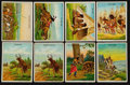 "Non-Sport Cards:Sets, 1910 T73 Hassan ""Indian Life in the 1860's"" Complete Set (50) PlusRare Variation. ..."