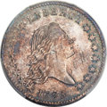 1795 50C 2 Leaves, Second S Over D, O-129, R.5, MS63+ PCGS. CAC....(PCGS# 39259)