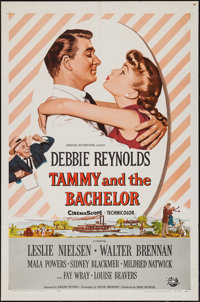 "Tammy and the Bachelor (Universal International, 1957). One Sheets (11) (27"" X 41""), Soundtrack Poster (12&quo..."