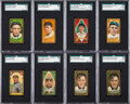 Baseball Cards:Lots, 1911 T205 Gold Border Baseball Collection (145). ...