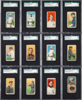 Baseball Cards:Lots, 1909-11 T206 White Border Baseball Collection (545) With TolstoiWalter Johnson. ...