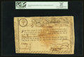 Colonial Notes:Massachusetts, Massachusetts Bay Treasury Certificate State Lottery Class theThird £15 June 1, 1779 Anderson MA-15 PCGS Apparent Very Fine 2...