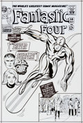 Original Comic Art:Covers, Bruce McCorkindale Fantastic Four #50 Cover Re-CreationOriginal Art (2010). ...
