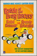"Movie Posters:Animation, Battle of the Drag Racers (Warner Brothers, 1966). One Sheet (27"" X 41""). Animation.. ..."