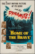 """Movie Posters:War, Home of the Brave (United Artists, 1949). One Sheet (27"""" X 41"""").War.. ..."""