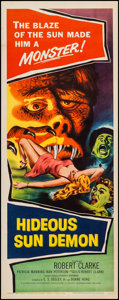"Movie Posters:Science Fiction, Hideous Sun Demon (Pacific International, 1959). Insert (14"" X36""). Science Fiction.. ..."