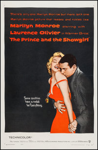 """The Prince and the Showgirl (Warner Brothers, 1957). One Sheet (26.75"""" X 41.25""""). Romance"""