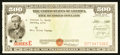 Miscellaneous:Other, $500 Savings Bond Series E Issued July 8, 1959 at Las Vegas, NevadaSchwan 265.. ...