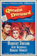 "Movie Posters:Adventure, Quentin Durward & Other Lot (MGM, 1955). One Sheets (2) (27"" X41""). Adventure.. ... (Total: 2 Items)"
