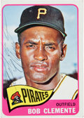 Autographs:Sports Cards, Signed 1965 Topps Roberto Clemente #160 Card....