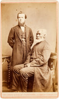 """Photography:CDVs, Josiah Henson (""""Uncle Tom""""): An Unusual CDV from the London School of Photography...."""