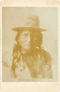 Photography:Cabinet Photos, Sitting Bull: A Scarce and Popular Cabinet Card Image....