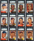 Baseball Cards:Lots, 1953 Topps Baseball Shoe Box Collection (400+) including MickeyMantle. ...