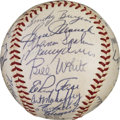 Baseball Collectibles:Balls, 1961 National League All-Star Team Signed Baseball. ...