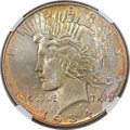 Peace Dollars, 1934 $1 MS66+ ★ NGC. CAC....
