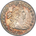 Early Dimes, 1805 10C 4 Berries, JR-2, R.2, MS65 PCGS. CAC....