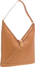 """Luxury Accessories:Bags, Hermes Natural Ardennes Shoulder Bag with Gold Hardware . VeryGood to Excellent Condition . 16"""" Width x 16"""" Height x..."""