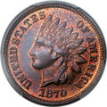 Proof Indian Cents, 1870 1C PR66 Red and Brown PCGS. CAC....