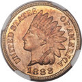 Proof Indian Cents, 1888 1C Cent PR65 Red and Brown NGC....