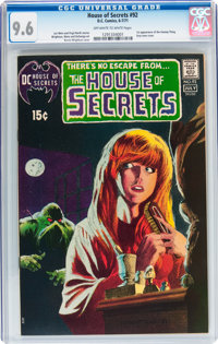 House of Secrets #92 (DC, 1971) CGC NM+ 9.6 Off-white to white pages