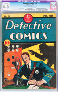 Golden Age (1938-1955):Adventure, Detective Comics #26 (DC, 1939) CGC Conserved FN+ 6.5 Light tan to off-white pages....