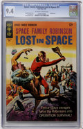 Silver Age (1956-1969):Science Fiction, Space Family Robinson #21 (Gold Key, 1967) CGC NM 9.4 Off-white to white pages....