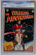 Golden Age (1938-1955):Science Fiction, Strange Adventures #9 (DC, 1951) CGC VG/FN 5.0 Cream to off-whitepages....