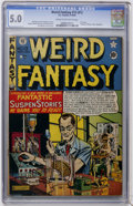 Golden Age (1938-1955):Science Fiction, Weird Fantasy 13 (#1) (EC, 1950) CGC VG/FN 5.0 Cream to off-whitepages....