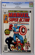 Magazines:Superhero, Marvel Super Action #1 (Marvel, 1977) CGC NM/MT 9.8 White pages....
