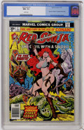 Bronze Age (1970-1979):Miscellaneous, Red Sonja #1 (Marvel, 1977) CGC NM+ 9.6 White pages....