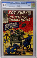 Silver Age (1956-1969):War, Sgt. Fury and His Howling Commandos #40 Mile High II pedigree (Marvel, 1967) CGC NM+ 9.6 White pages....