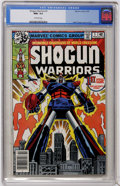 Bronze Age (1970-1979):Superhero, Shogun Warriors #1 (Marvel, 1979) CGC NM+ 9.6 Off-white pages....
