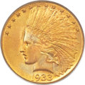 Indian Eagles, 1933 $10 MS65 PCGS. CAC....