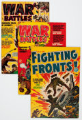 Golden Age (1938-1955):Miscellaneous, Harvey War Comics File Copies Group (Harvey, 1950s) Condition: Average VF.... (Total: 39 Comic Books)