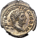 Ancients:Roman Imperial, Ancients: Caracalla (AD 198-217). AR denarius (3.74 gm). ...