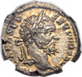 Ancients:Roman Imperial, Ancients: Septimius Severus (AD 193-211). AR denarius (3.66 gm)....