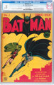 Batman #1 (DC, 1940) CGC 0.5 Off-white pages
