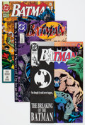 Modern Age (1980-Present):Superhero, Batman Short Box Group (DC, 1990s) Condition: Average NM-....