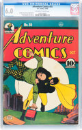 Golden Age (1938-1955):Superhero, Adventure Comics #55 (DC, 1940) CGC FN 6.0 Off-white to white pages....