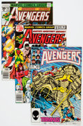 Modern Age (1980-Present):Superhero, The Avengers Box Lot (Marvel, 1977-93) Condition: Average NM-....