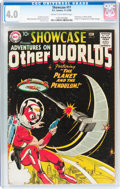 Silver Age (1956-1969):Science Fiction, Showcase #17 Adventures on Other Worlds (DC, 1958) CGC VG 4.0 Creamto off-white pages....