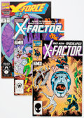 Modern Age (1980-Present):Superhero, X-Factor/X-Force Group (Marvel, 1986-91) Condition: Average VF....(Total: 34 Comic Books)