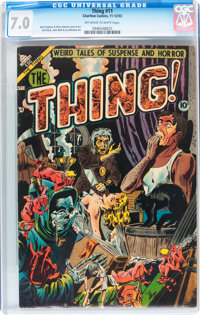 The Thing! #11 (Charlton, 1953) CGC FN/VF 7.0 Off-white to white pages